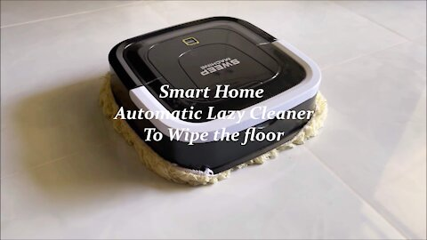 Smart Home Automatic Lazy Cleaner to mop the floor