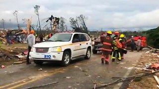 Alabama Tornadoes Kill 23