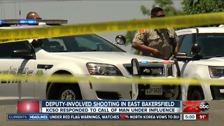 Deputy Involved Shooting occurs in East Bakersfield, leaving one suspect injured