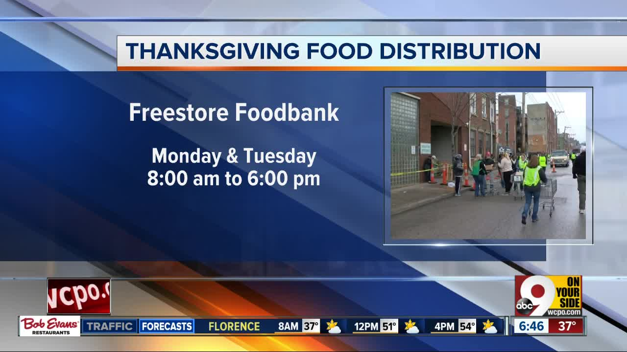 Cincy nonprofit gives away Thanksgiving meals today, Tuesday