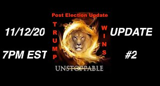11.12.20 UPDATE #2: Military 2020 Election Sting Operation Leading to Trump 2nd Term Landslide
