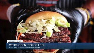We're Open Colorado: GQue BBQ