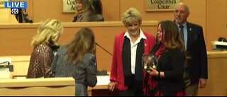 Las Vegas City Council honors woman featured in Netflix documentary