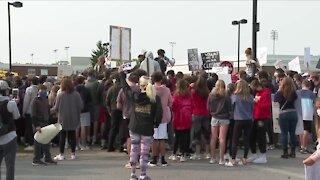 Student protest in Williamsville