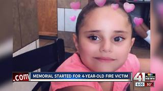 Neighbors and family friends remember little girl killed in KCK fire