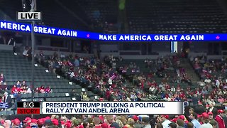 President Trump holding rally in Grand Rapids