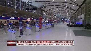 President Trump announces travel restrictions