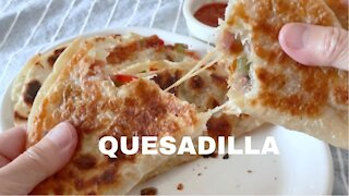 How to make quesadillas at home