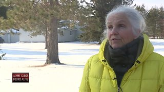 Woman walking dog encounters Jayme Closs