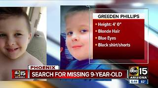 Phoenix police looking for missing child