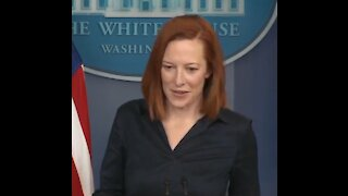 """Watch Psaki's Snobby Response When Asked About Biden's """"Neanderthal"""" Comment"""