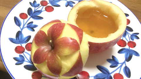 How to Make Apple Jelly in Romantic Apple Jewely bowl