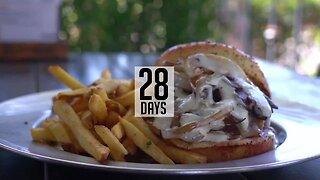 SIMPLY SWEET: 28 Day Aged Mushroom Burger