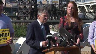 Former Congressman Dennis Kucinich announces bid for Cleveland mayor