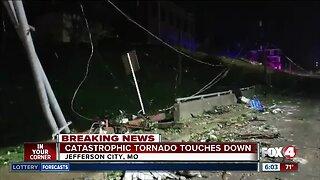 Catastrophic tornado touches down in Missouri