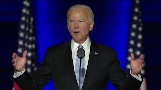 President-elect Joe Biden addresses the nation in Wilmington