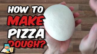 How to make pizza dough 🍕