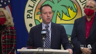 Palm Beach County leaders urge patience during COVID vaccine rollout