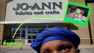 Channel Chat 88: I Went to JoAnn for This Yarn Haul + a Giveaway