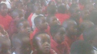 SOUTH AFRICA - Durban - Eskom visits Mceleni Primary School (Videos) (PLN)