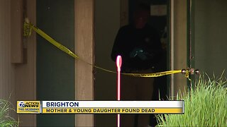 Mother, young daughter found dead in Brighton