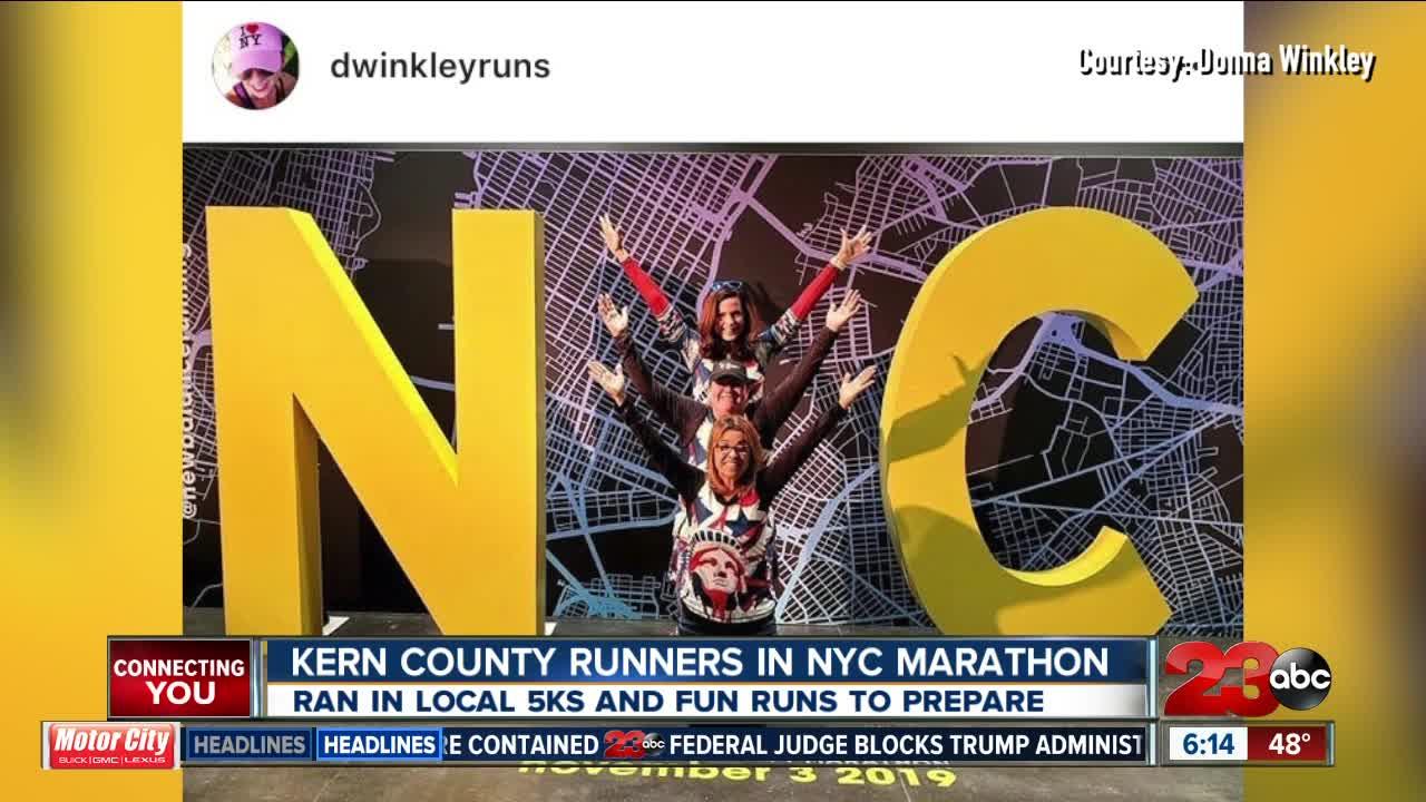 Bakersfield represented at the New York City Marathon