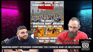ARMY AND MARINE COMBAT VETERANS COMPARE CHINESE AND AMERICAN MILITARY CAPABILITIES
