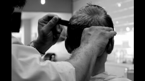 Grandpa's hair.