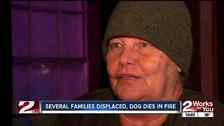 Darlington Oaks fire, families displaced
