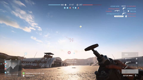 BFV Destroying a try hard pilot with dynamite