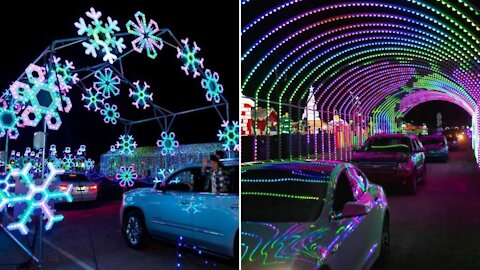 The World's Largest Drive-Through Light Show Is Coming To Atlanta