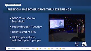 Freedom: Passover Drive-Thru Experience