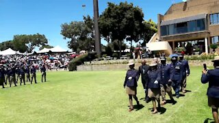 SOUTH AFRICA - Johannesburg - JMPD passing out parade (Videos) (MR6)