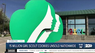 15 million Girl Scout cookies unsold nationwide