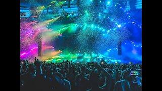 EDM festival moments