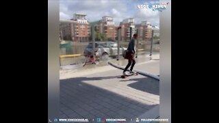 Skateboard Malfunction. 😆