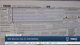 IRS sees growing backlog