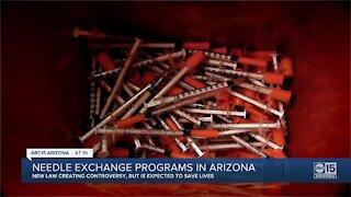 Arizona legalizes syringe exchange programs