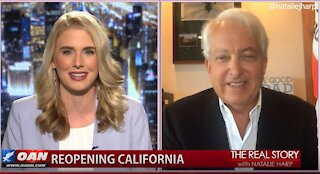 The Real Story - OANN Reopen California with John Cox