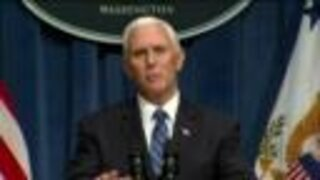 VP Pence on safety, masks while on campaign trail