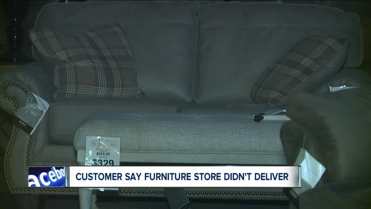 Customers of Northeast Ohio furniture store looking for answers after bankruptcy filing