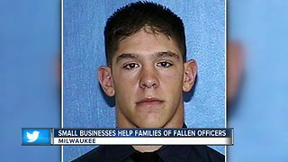 Small businesses rally to help families of Rittner and Rodriguez