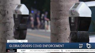 San Diego Mayor orders COVID-19 enforcement