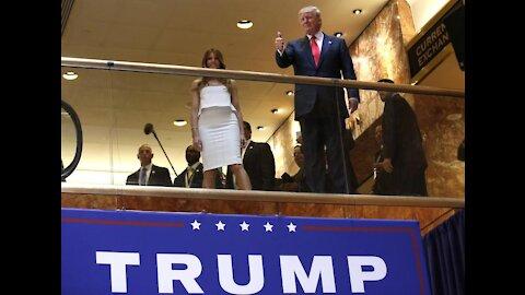 Donald Trump 2016 Presidential Campaign Announcement at Trump Tower in NYC