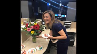 Happy 25 years at WPTV Shannon Cake