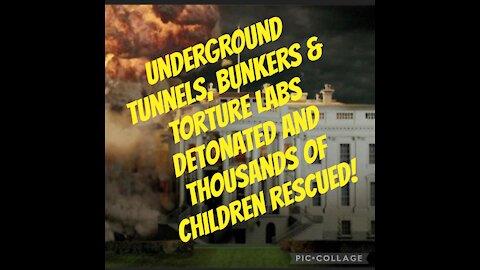 BREAKING: TUNNELS UNDER WHITE-HOUSE DETONATED