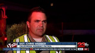 Deadly crash on southbound 99