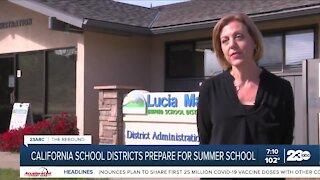 Summer school begins