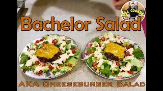 Bachelor Salad   AKA Cheeseburger Salad