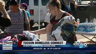 Homeless Connect event offers array of services for the homeless
